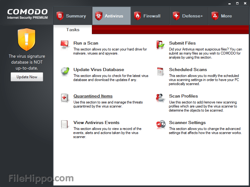 Comodo Internet Security 5.8.213334
