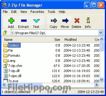 7-Zip 9.22 Beta (32-bit)